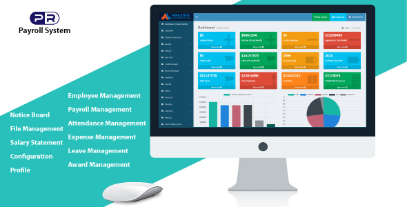 machine integrated HRM & Payroll Software